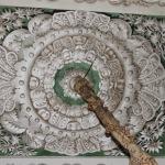Ripristino di soffitto decorato